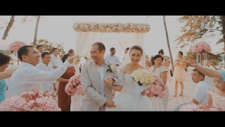 Wedding at Phuket, Jian + Diya [Hightlight] Wedding video Thailand